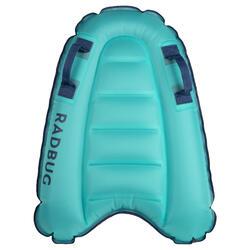 Bodyboard Discovery aufblasbar Kinder 4–8 Jahre (15–25kg) blau
