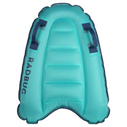 Kid's inflatable Bodyboard DISCOVERY 4 years old-8 years old (15-25Kg) blue