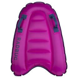 Bodyboard criança DISCOVERY insuflável rosa 4 anos-8 anos (15-25Kg)