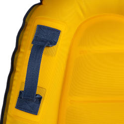 Bodyboard enfant DISCOVERY gonflable jaune 4 ans-8 ans (15-25Kg)