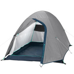 CAMPING TENT - MH100 - GREY - 2 PERSON