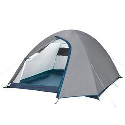Campingzelt MH100 für 3 Personen grau