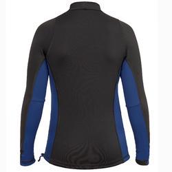 UV shirt jongen met lange mouwen 500 zwart