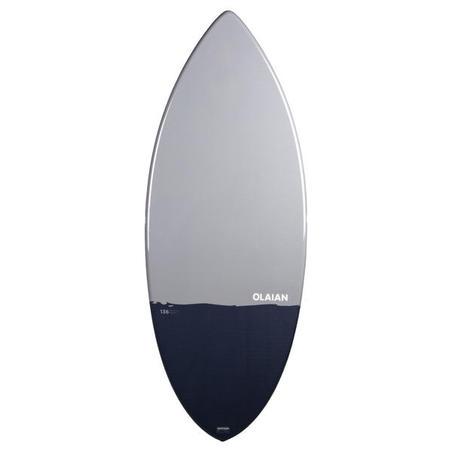 Adult Fibre Skimboard 900 Composite fibre blue grey