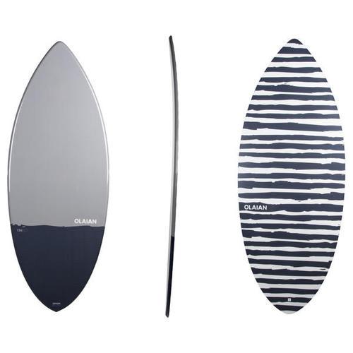 Skimboard 900 Adulte bleu gris Fibre composite