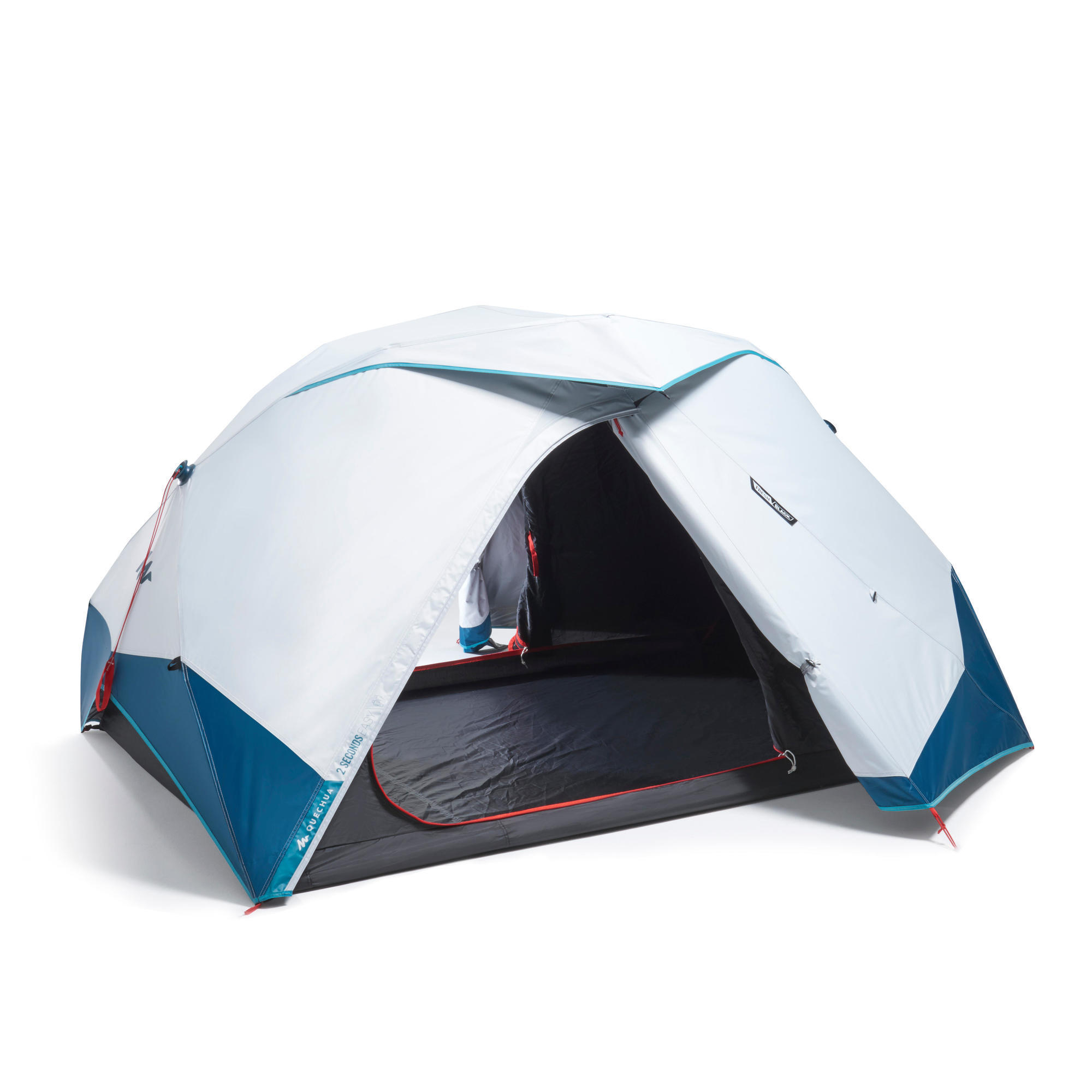 CAMPING TENT 2 SECONDS EASY - FRESH & BLACK - 2 PERSON ...