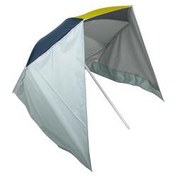 Guarda-sol PARUV Windstop turquesa amarelo verde escuro UPF50+ 2 lugares