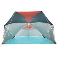 Parasol Sun Shelter 3 Person UPF50+ Iwiko 180 - Mint Grey Orange