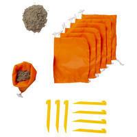 Sun Shelter 3 Person UPF50+ Iwiko 180 - Mint Grey Orange
