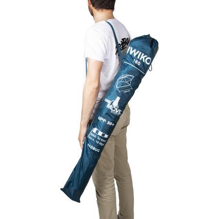 Пляжный зонт Iwiko 180 UPF50+ трехместный