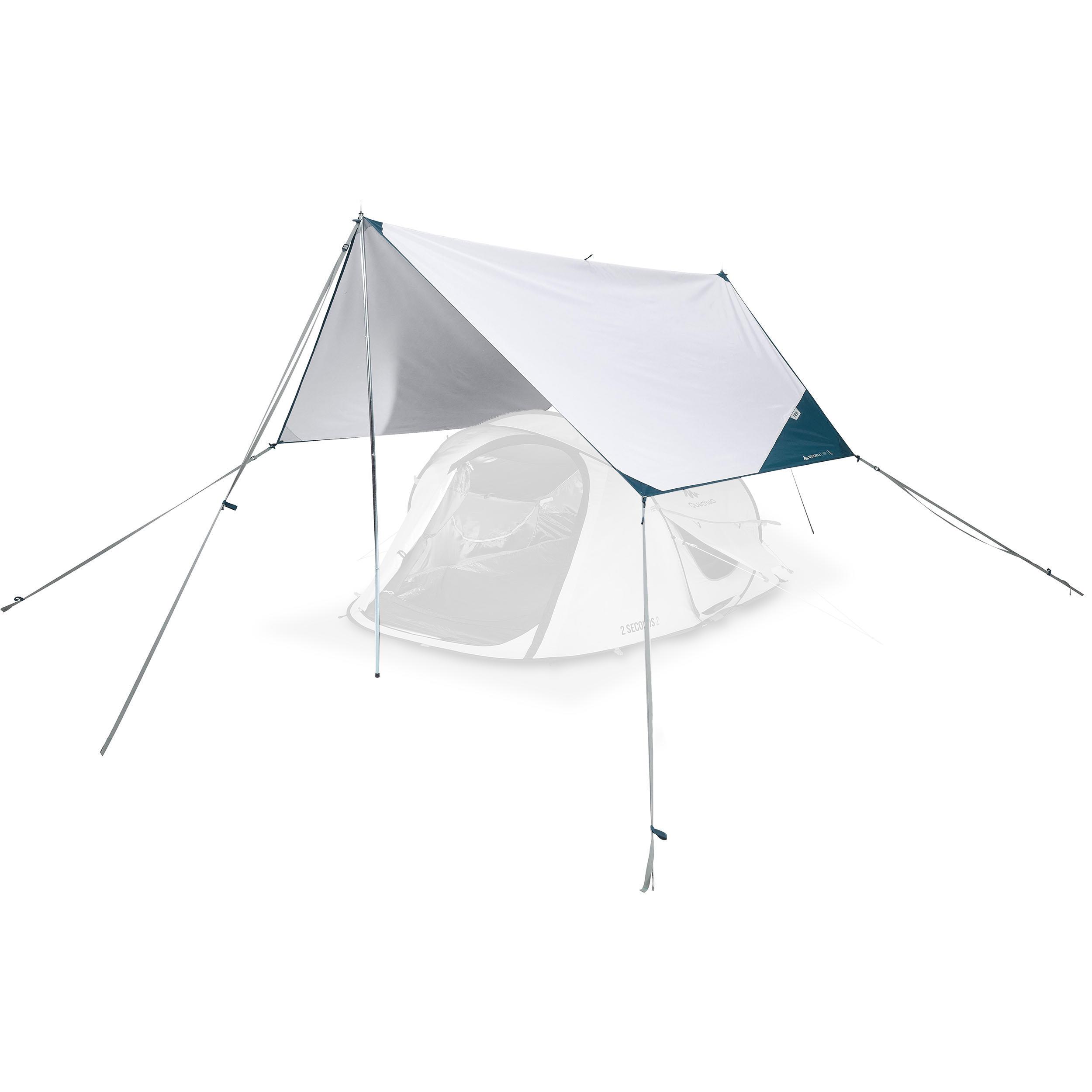 Canopy al Aire Libre Refugio de Playa Tienda de sombrilla Tienda Ligera de sombrilla con una Pared de Sombra incluida para Pesca Camping Viajes