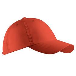 Casquette golf adulte respirante rouge