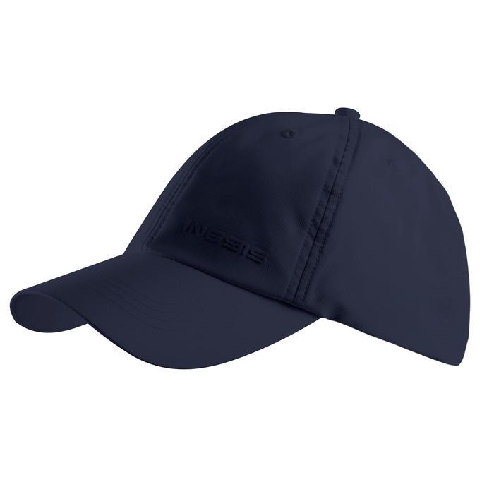 Ademende golfpet voor volwassenen marineblauw