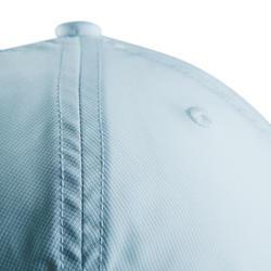 Ademende golfpet voor volwassenen lichtblauw
