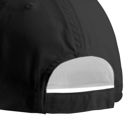 Gorra de Golf Adulto. Negro Transpirable