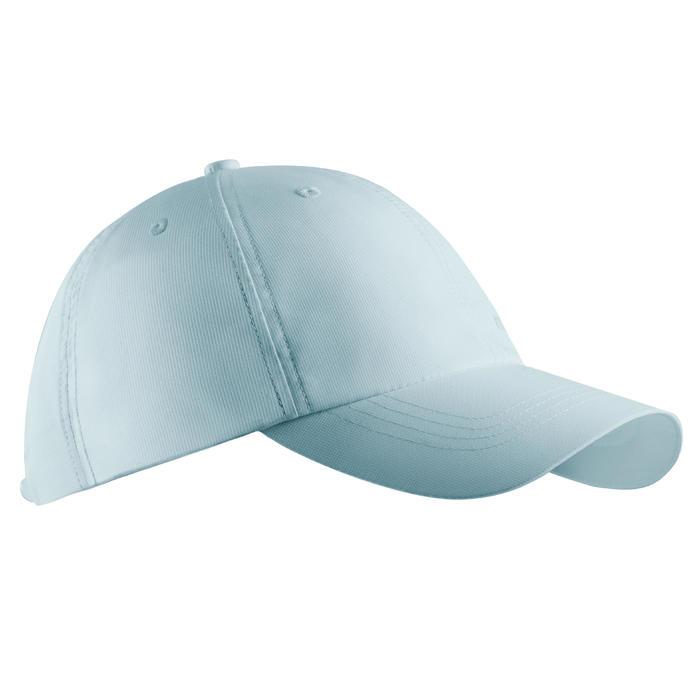 Casquette golf adulte respirante bleu ciel