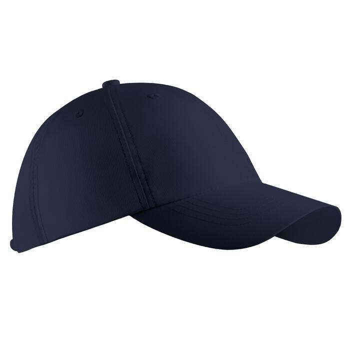成人款高爾夫球帽-軍藍色
