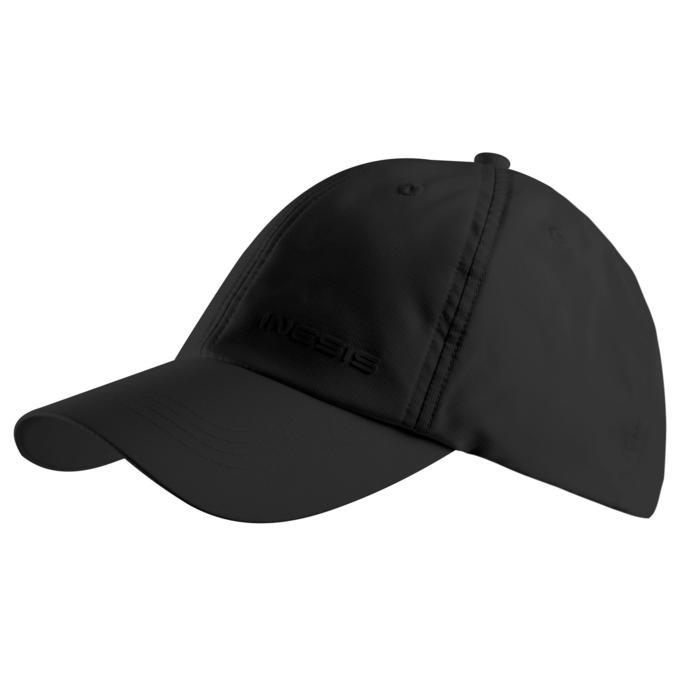 Casquette golf adulte respirante noire