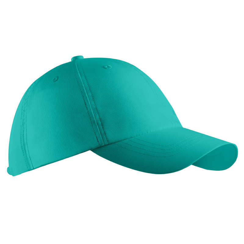 MENS WARM WEATHER GOLF CLOTHING Golf - Cap turquoise INESIS - Golf Clothing