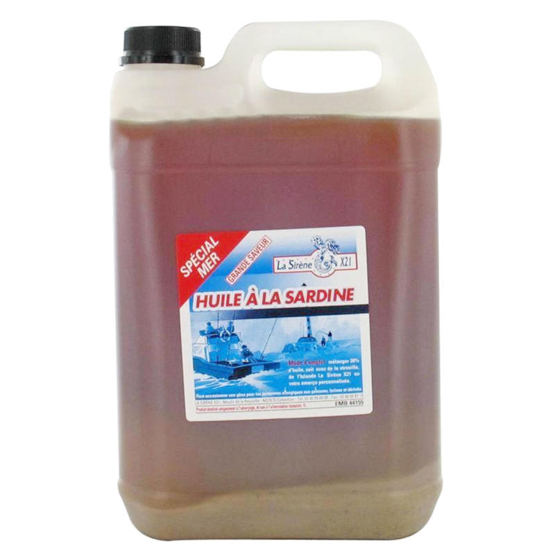 Sardine oil 1L sea fishing