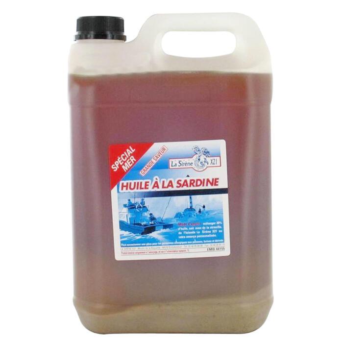 Sardine-olie 1l zeehengelen