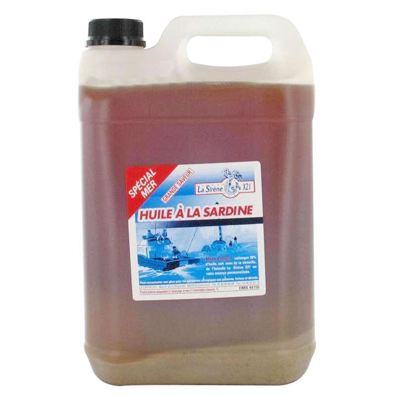 AGN, BETEN HAV Fiske - Sardinolja 1 liter för agn GUIOT - Verktyg och Tillbehör