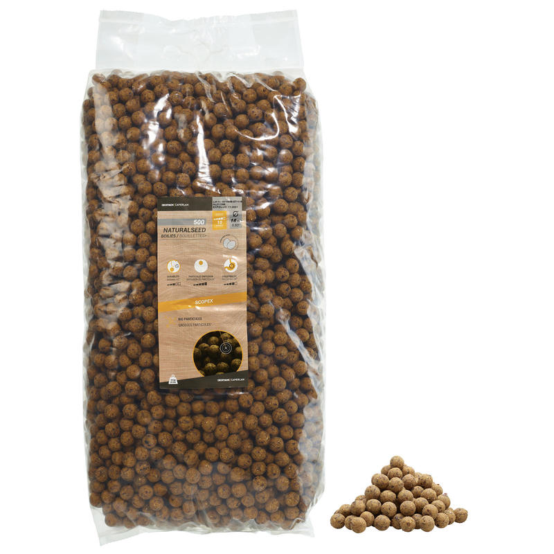 Boilies voor het karpervissen Natural Seed 16 mm 10 kg Scopex