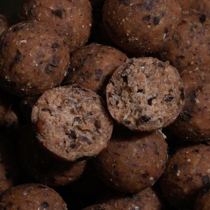 Boilies voor het karpervissen Natural Seed 20 mm 2 kg knoflook/lever