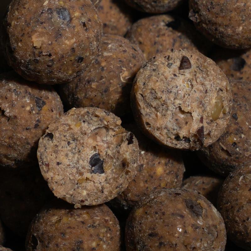 Bouillettes pêche de la carpe NATURALSEED 16mm 10kg Gammarus