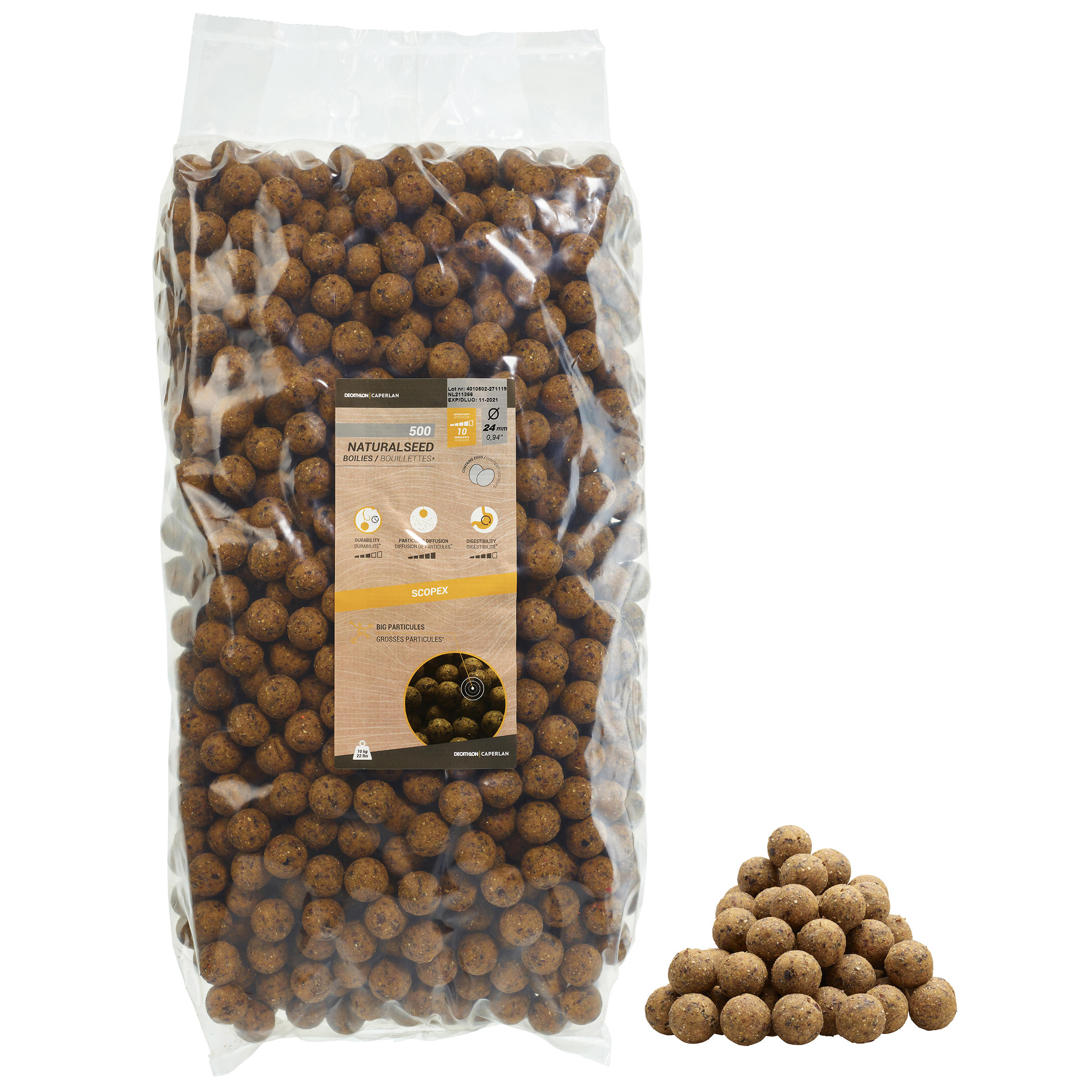 NATURALSEED 24mm 10kg Scopex