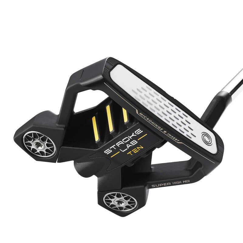 MAZZE GOLF GIOCATORE  ESPERTO Golf - Putter adulto STROKLAB nero 10 ODYSSEY - Mazze da golf