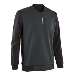 Sweat de football T100 noir