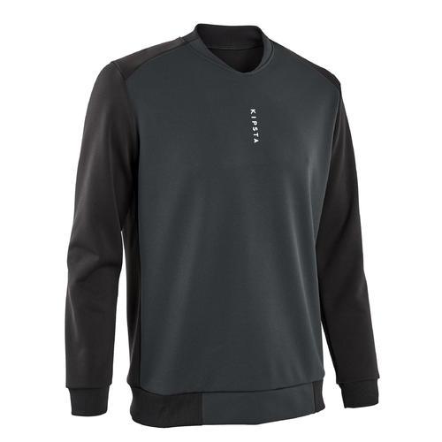 Sweat de football T100 noir