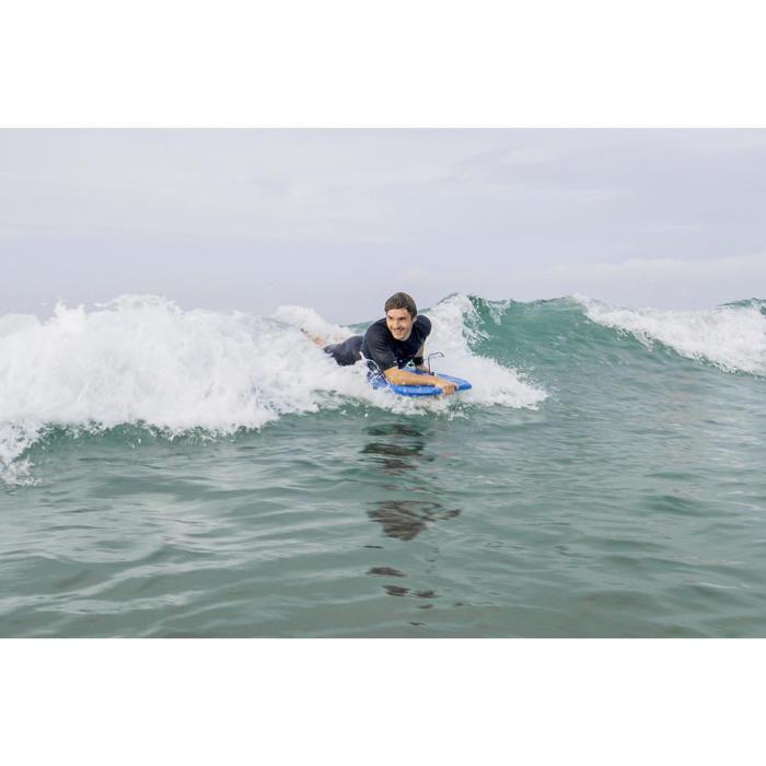 Bodyboard 100 blauw met leash en handgreep