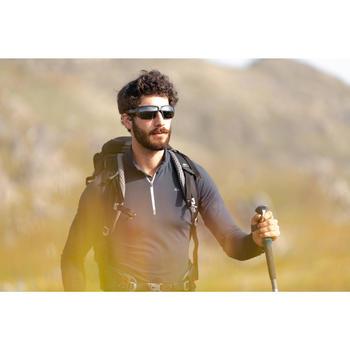 Zonnebril voor wandelen volwassenen MH590 polariserend categorie 4