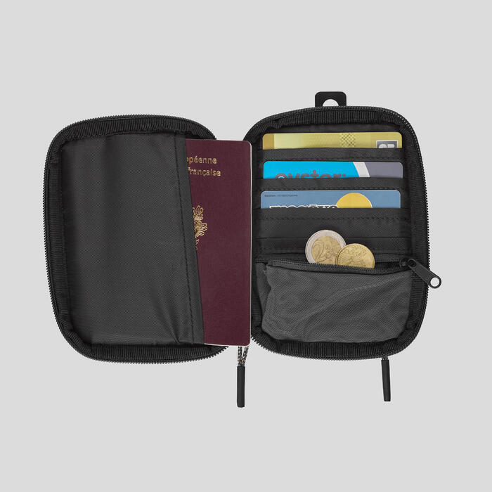 SMALL TRAVEL ORGANISER - GREY
