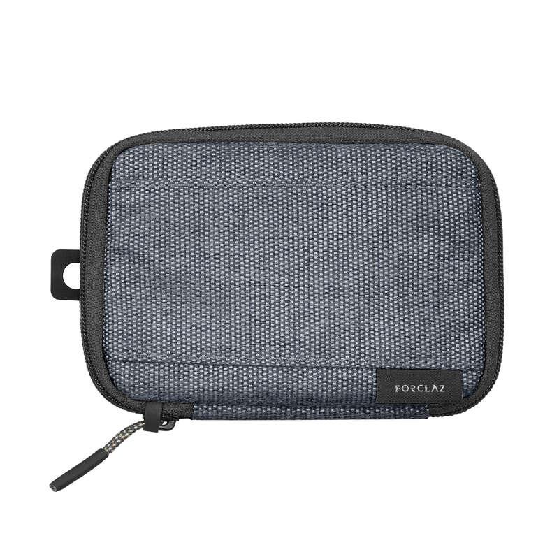 Kompakt hátizsák, backpacking kiegészítők Túrázás - PÉNZTÁRCA TRAVEL S  FORCLAZ - Túra felszerelés