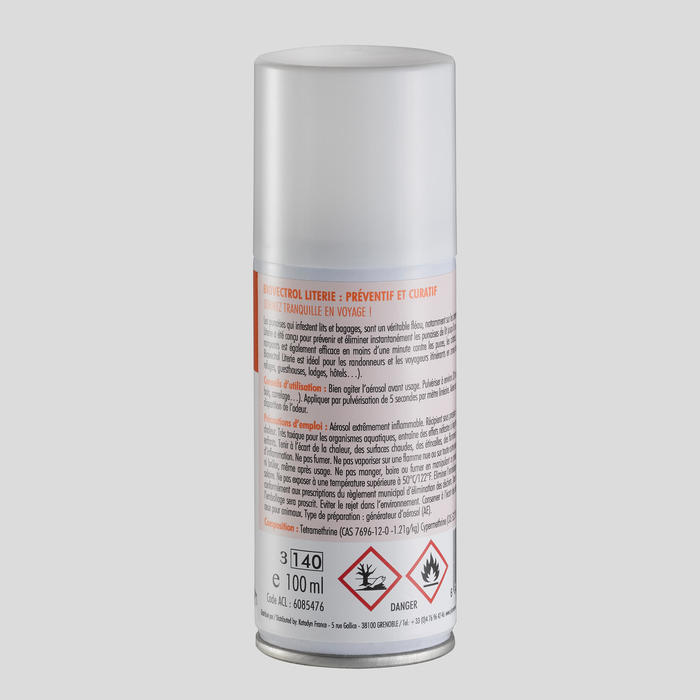 Spray literie anti punaise - BIOVECTROL- 100 ml