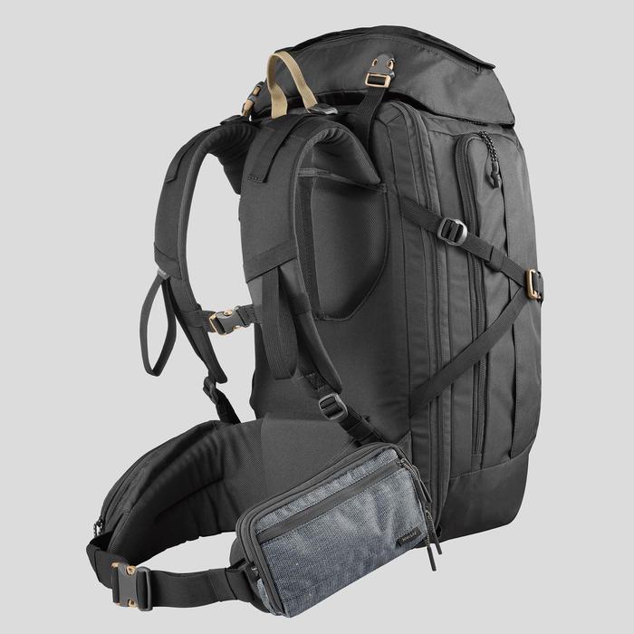 大型健行旅行整理包-灰色