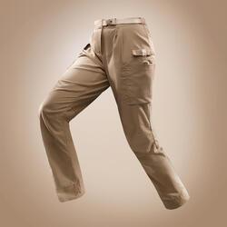 Women's Desert Trekking Trousers DESERT 500 Brown