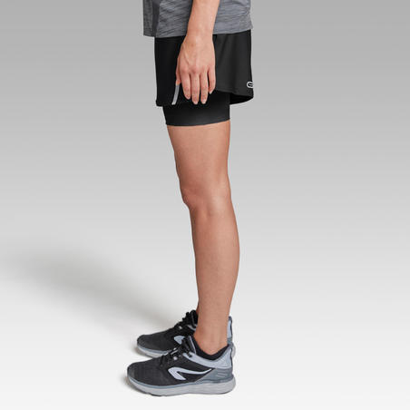 Run Dry+ Shorts Built-in Tight Shorts  – Women