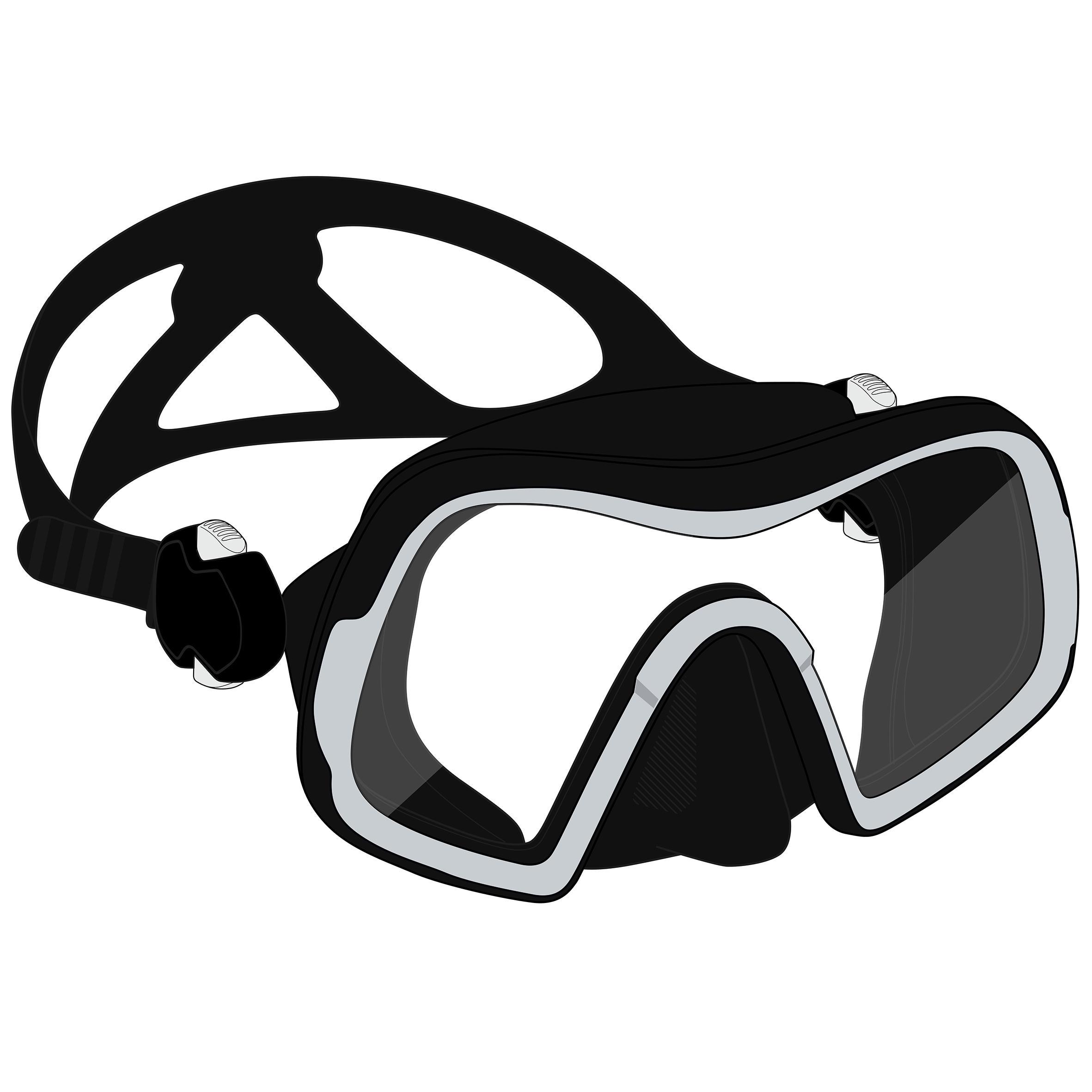 Mască SCD 500 Mono V2 Negru imagine