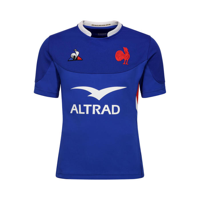 Maillot de rugby replica FFR XV de France tournoi 2020