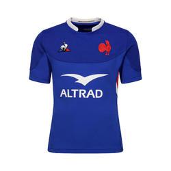 Maillot manches courtes de rugby replica FFR XV de France tournoi 2020