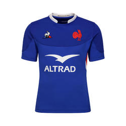 Rugbyshirt FFR XV replica van wedstrijdshirt van Franse rugbyteam 2020