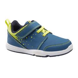 Schoenen 555 I Learn blauw/fluogroen