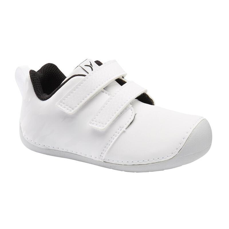 Chaussures bébé I LEARN blanches du 20 au 24