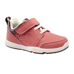Schoenen 555 I Learn roze/wit