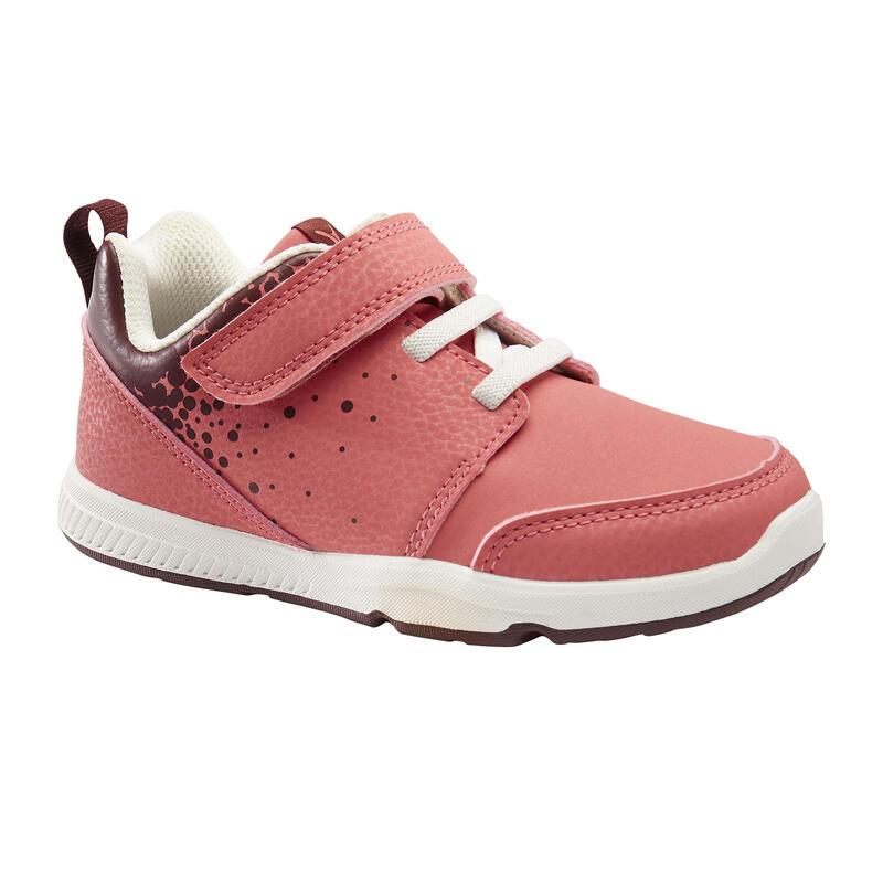 Zapatillas Bebé Primeros Pasos Domyos 550 I Learn rosa tallas 25 al 30