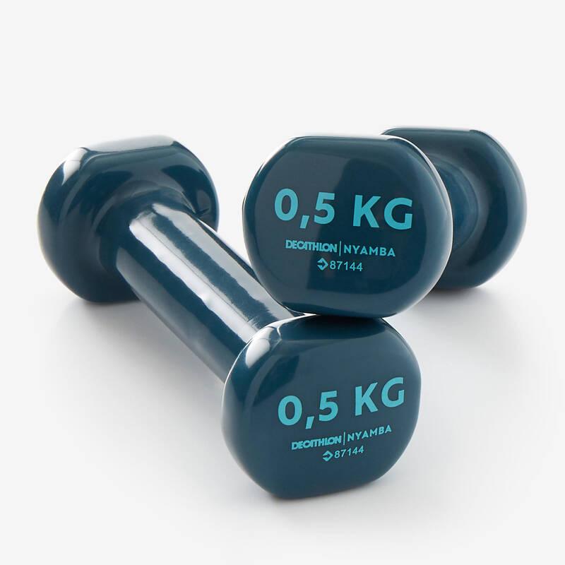VYBAVENÍ NA POSILOVÁNÍ Fitness - POSILOVACÍ ČINKY 0,5 KG 2 KS NYAMBA - Příslušenství na cvičení a pilates